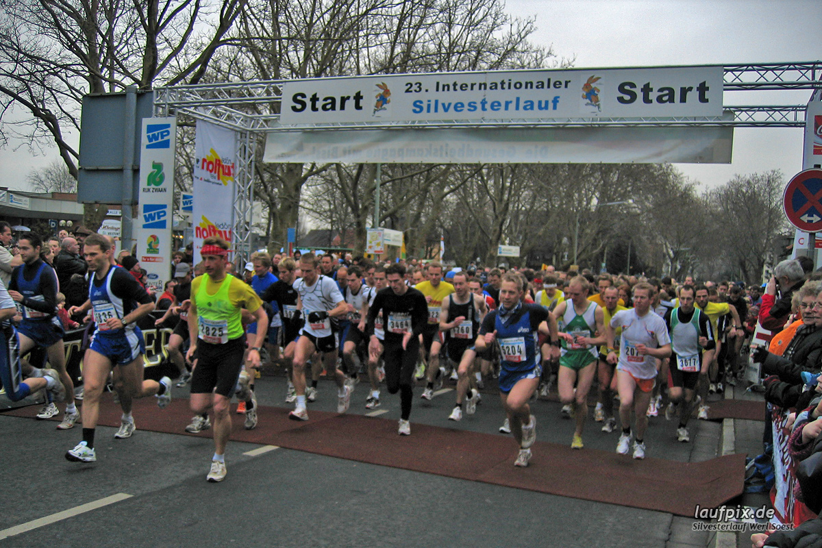Silvesterlauf Werl Soest 2004 Foto (1)