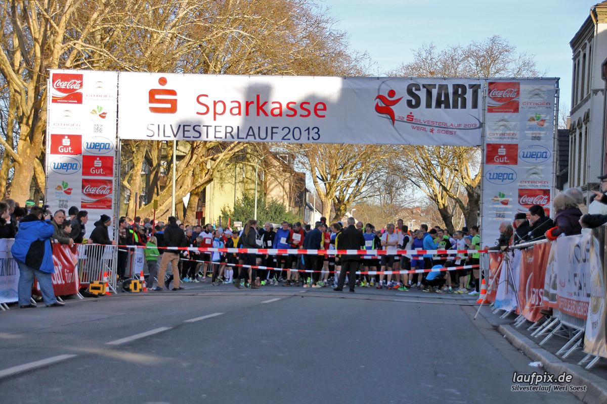 Silvesterlauf Werl Soest - Start 2013 Foto (36)
