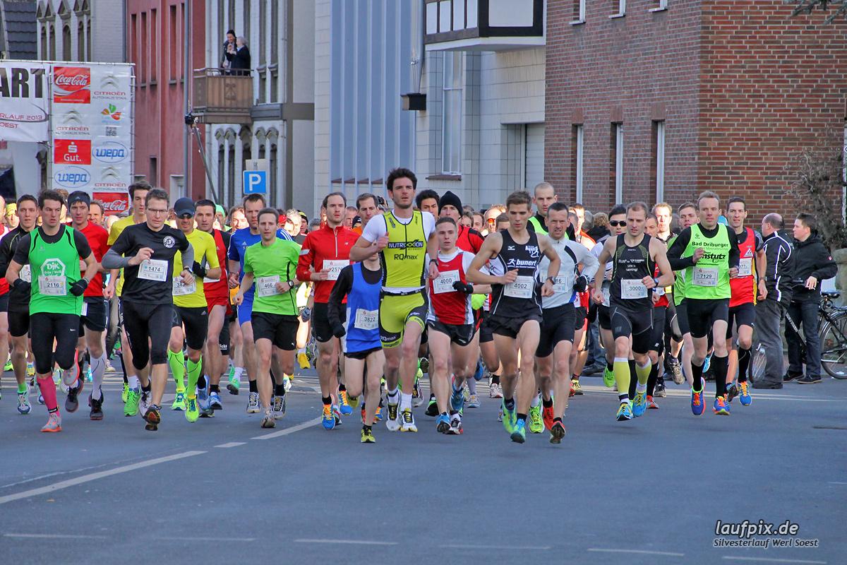 Silvesterlauf Werl Soest - Start 2013 Foto (48)