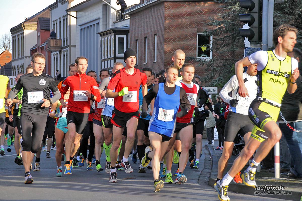 Silvesterlauf Werl Soest - Start 2013 Foto (50)