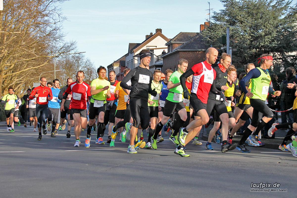 Silvesterlauf Werl Soest - Start 2013 - 57