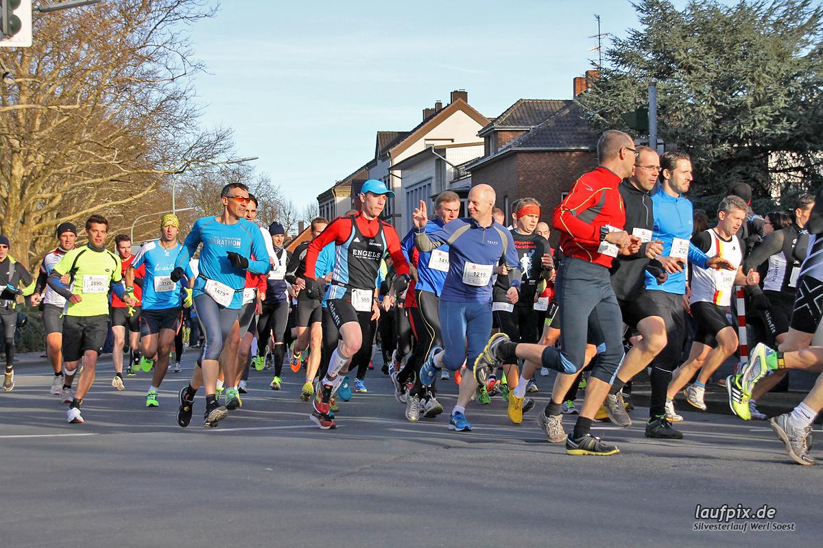 Silvesterlauf Werl Soest - Start 2013 Foto (61)