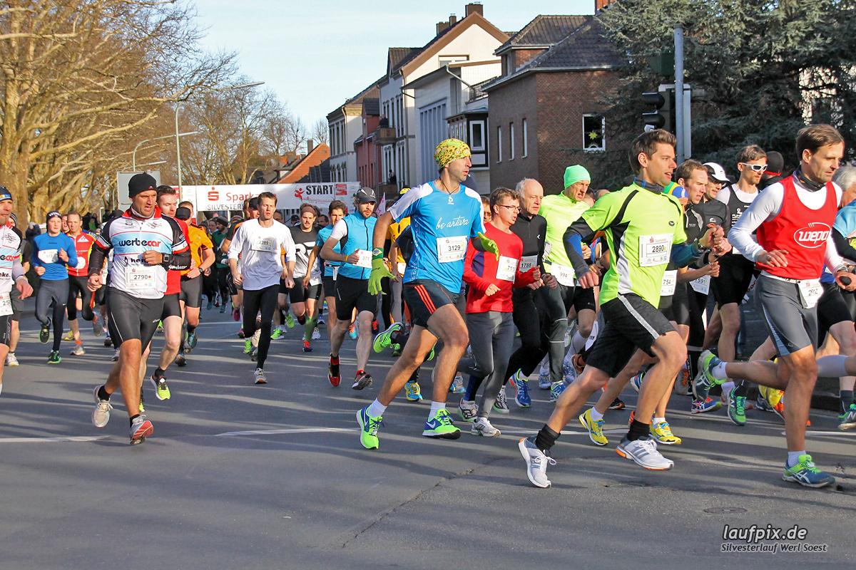 Silvesterlauf Werl Soest - Start 2013 Foto (64)