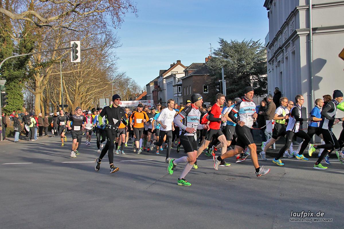 Silvesterlauf Werl Soest - Start 2013 Foto (67)