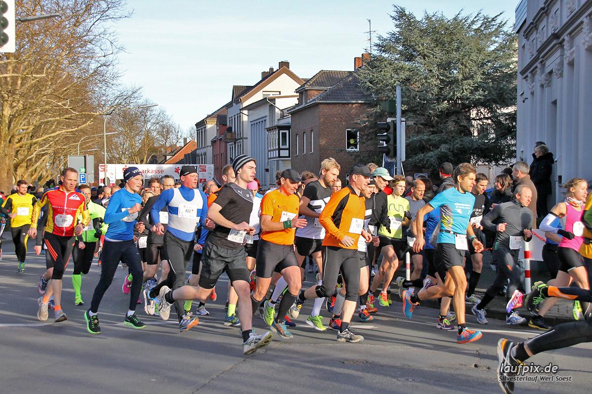 Silvesterlauf Werl Soest - Start 2013 - 68