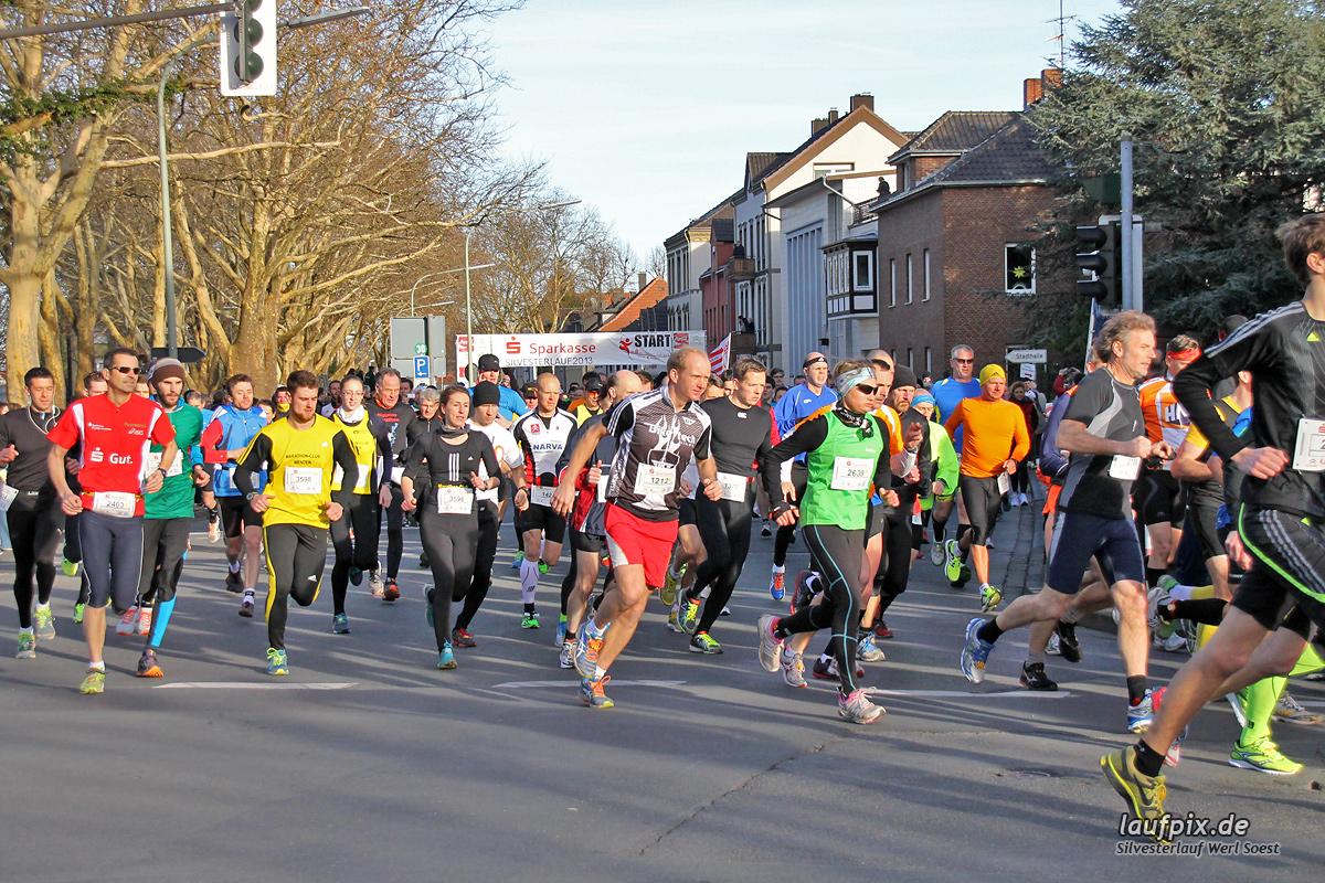 Silvesterlauf Werl Soest - Start 2013 - 72