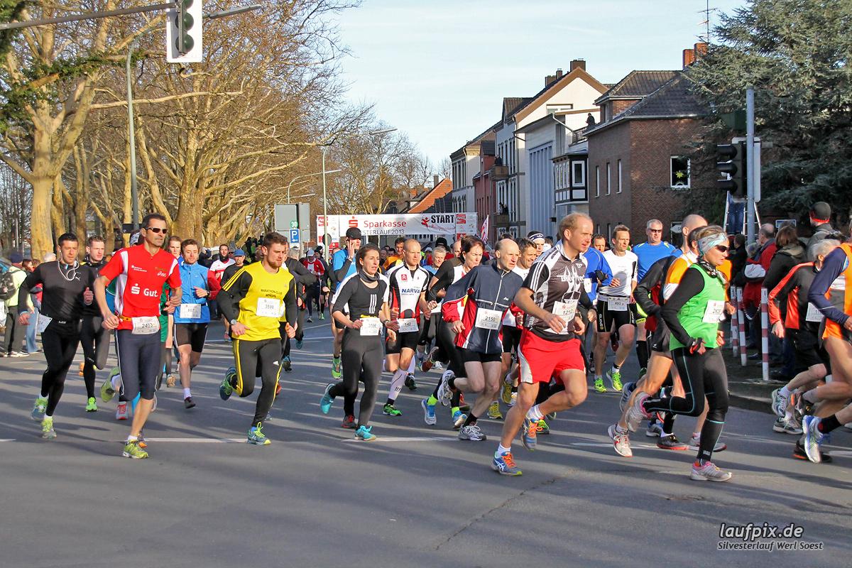 Silvesterlauf Werl Soest - Start 2013 - 73