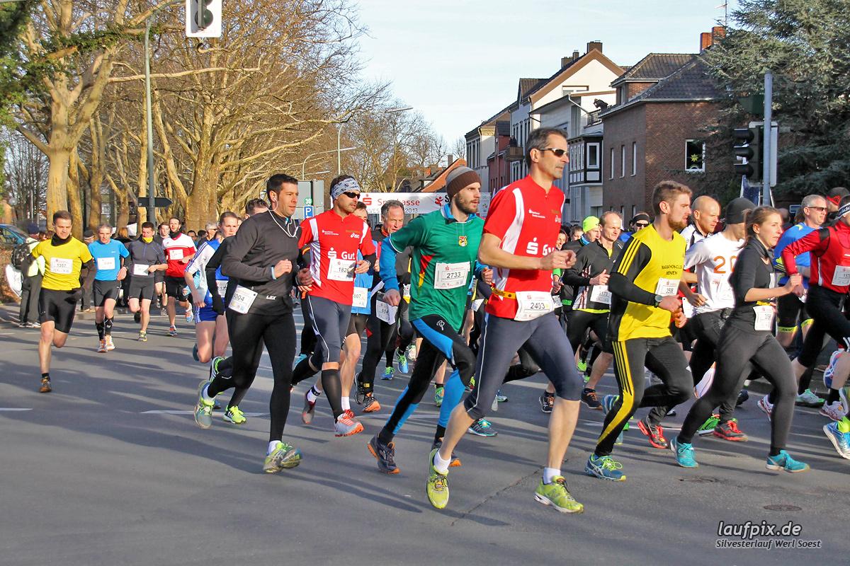 Silvesterlauf Werl Soest - Start 2013 Foto (75)