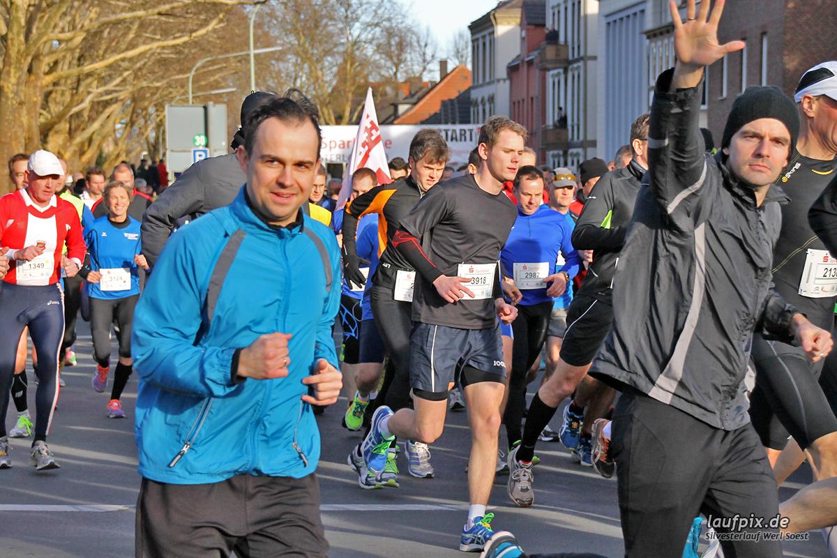 Silvesterlauf Werl Soest - Start 2013 Foto (88)