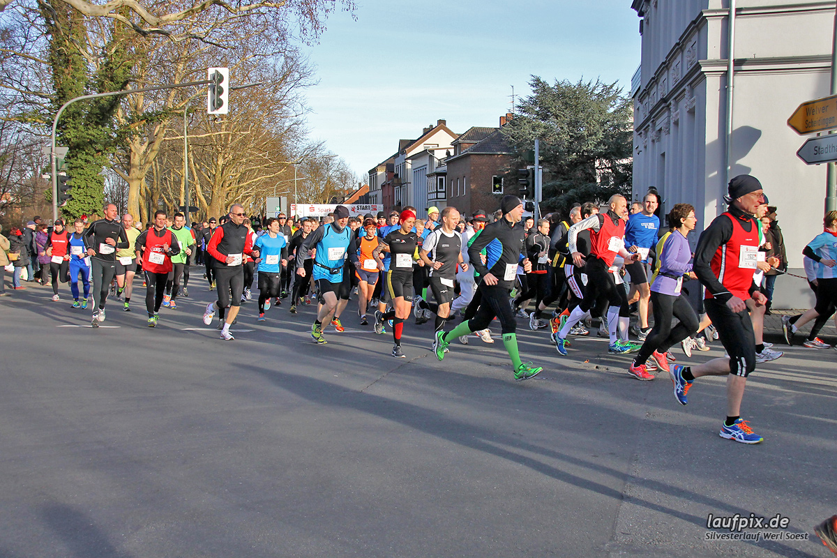 Silvesterlauf Werl Soest - Start 2013 - 108