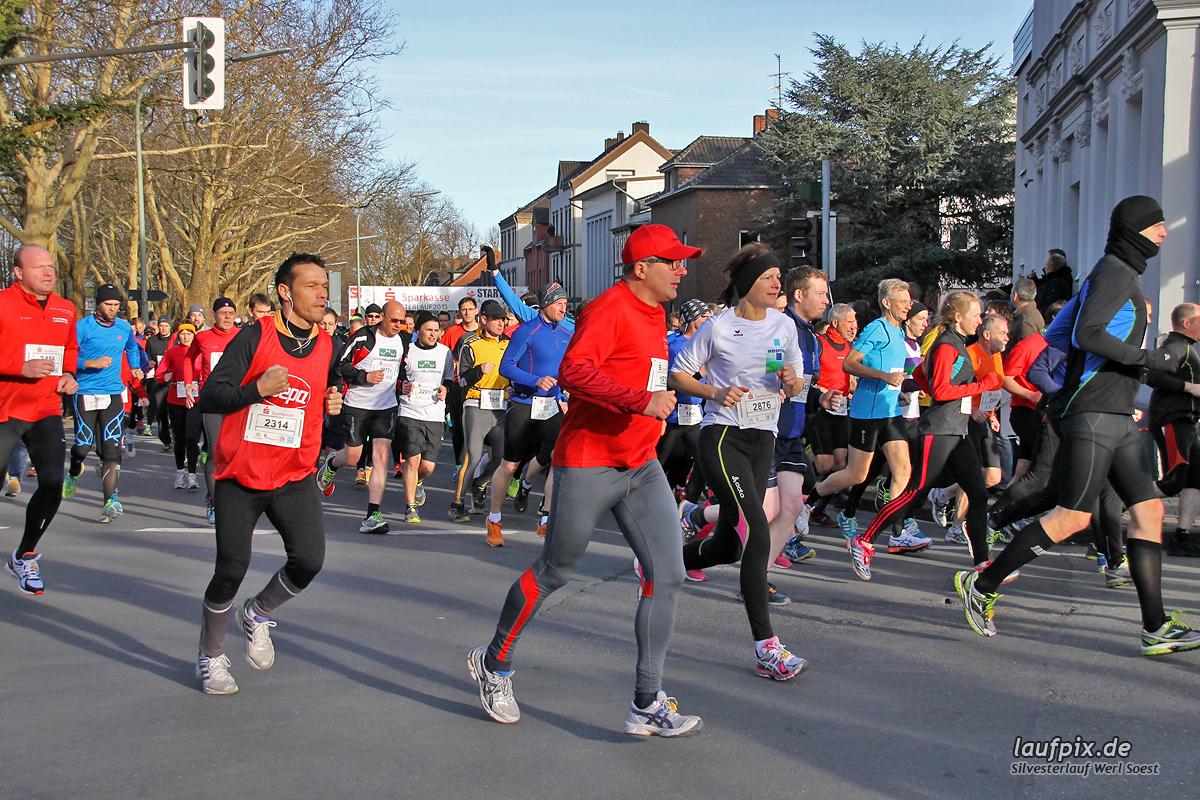 Silvesterlauf Werl Soest - Start 2013 - 122