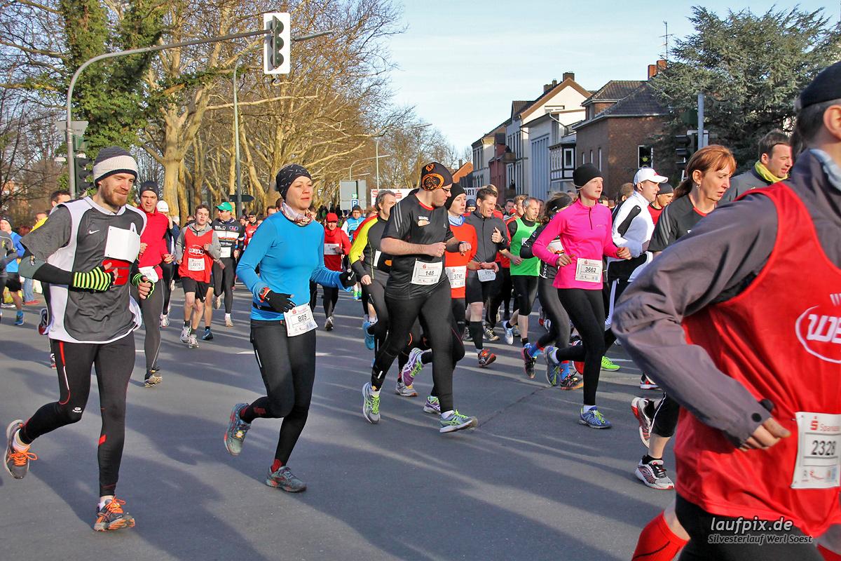 Silvesterlauf Werl Soest - Start 2013 - 165