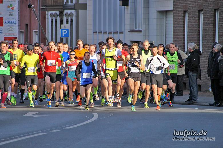 Silvesterlauf Werl Soest - Start 2013 - 45