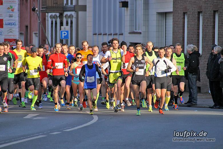 Silvesterlauf Werl Soest - Start 2013 - 46