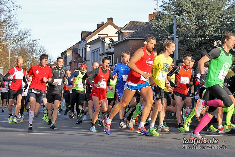 Silvesterlauf Werl Soest - Start 2013 - 54