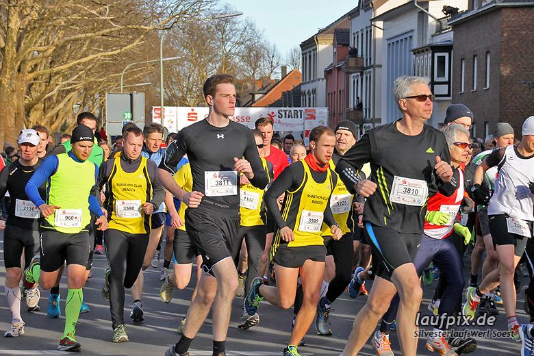Silvesterlauf Werl Soest - Start 2013 - 84
