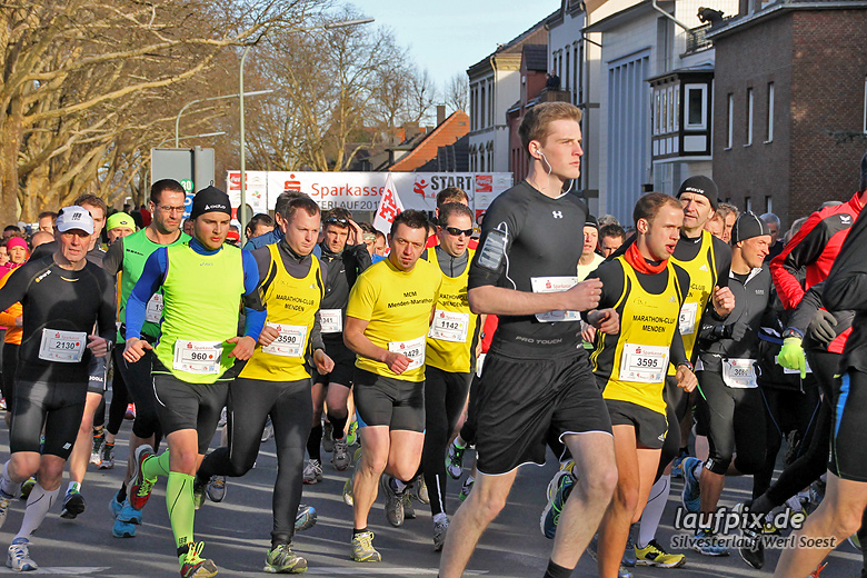 Silvesterlauf Werl Soest - Start 2013 - 85