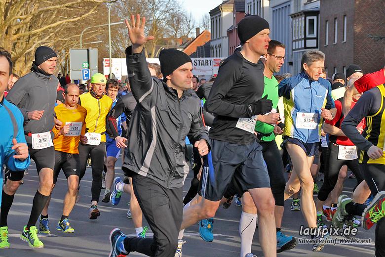 Silvesterlauf Werl Soest - Start 2013 - 87