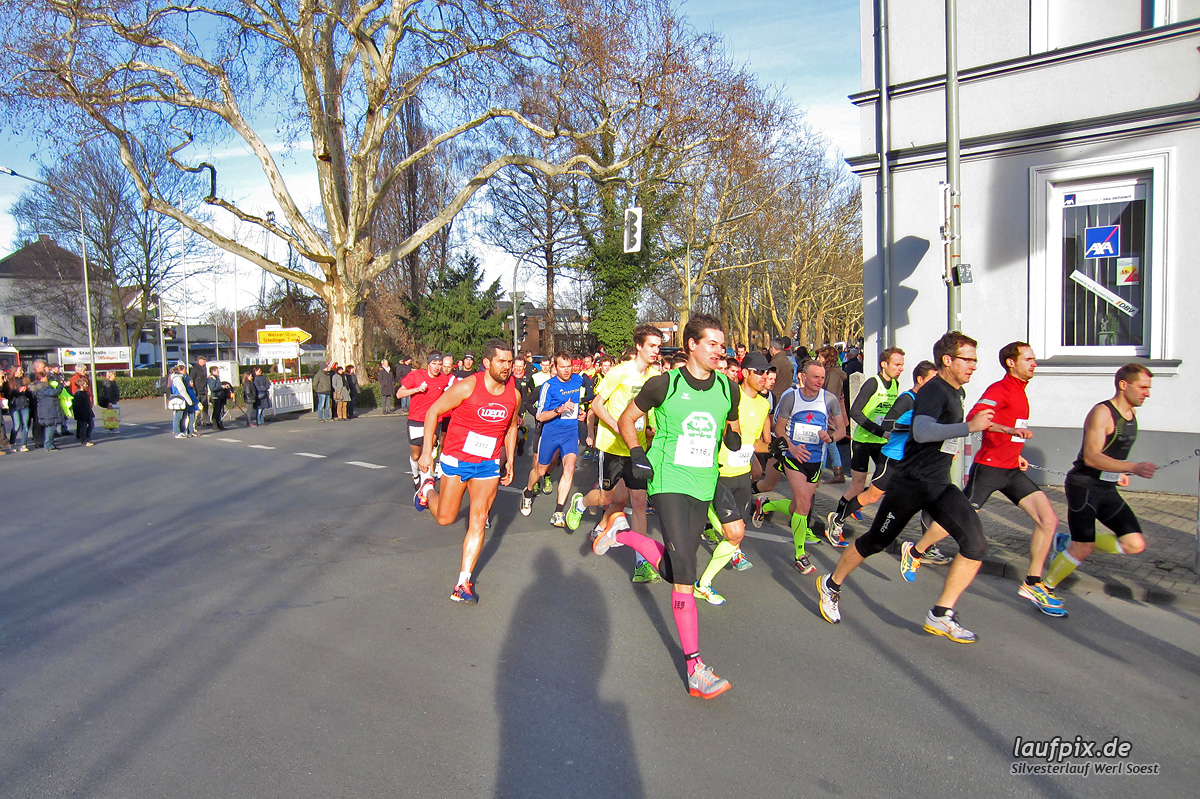 Silvesterlauf Werl Soest - Start 2013 Foto (3)