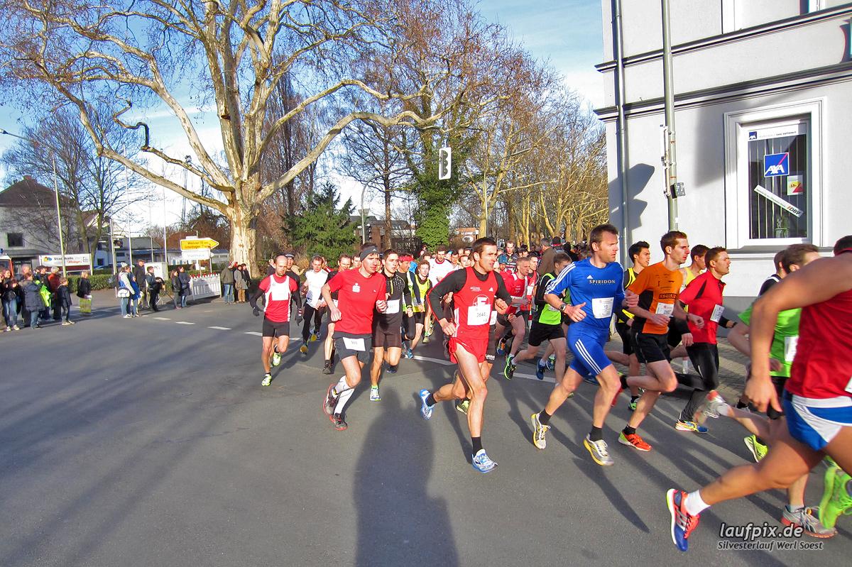 Silvesterlauf Werl Soest - Start 2013 Foto (5)