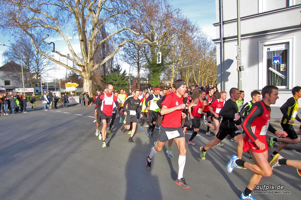 Silvesterlauf Werl Soest - Start 2013 - 6