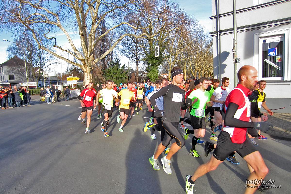 Silvesterlauf Werl Soest - Start 2013 Foto (8)