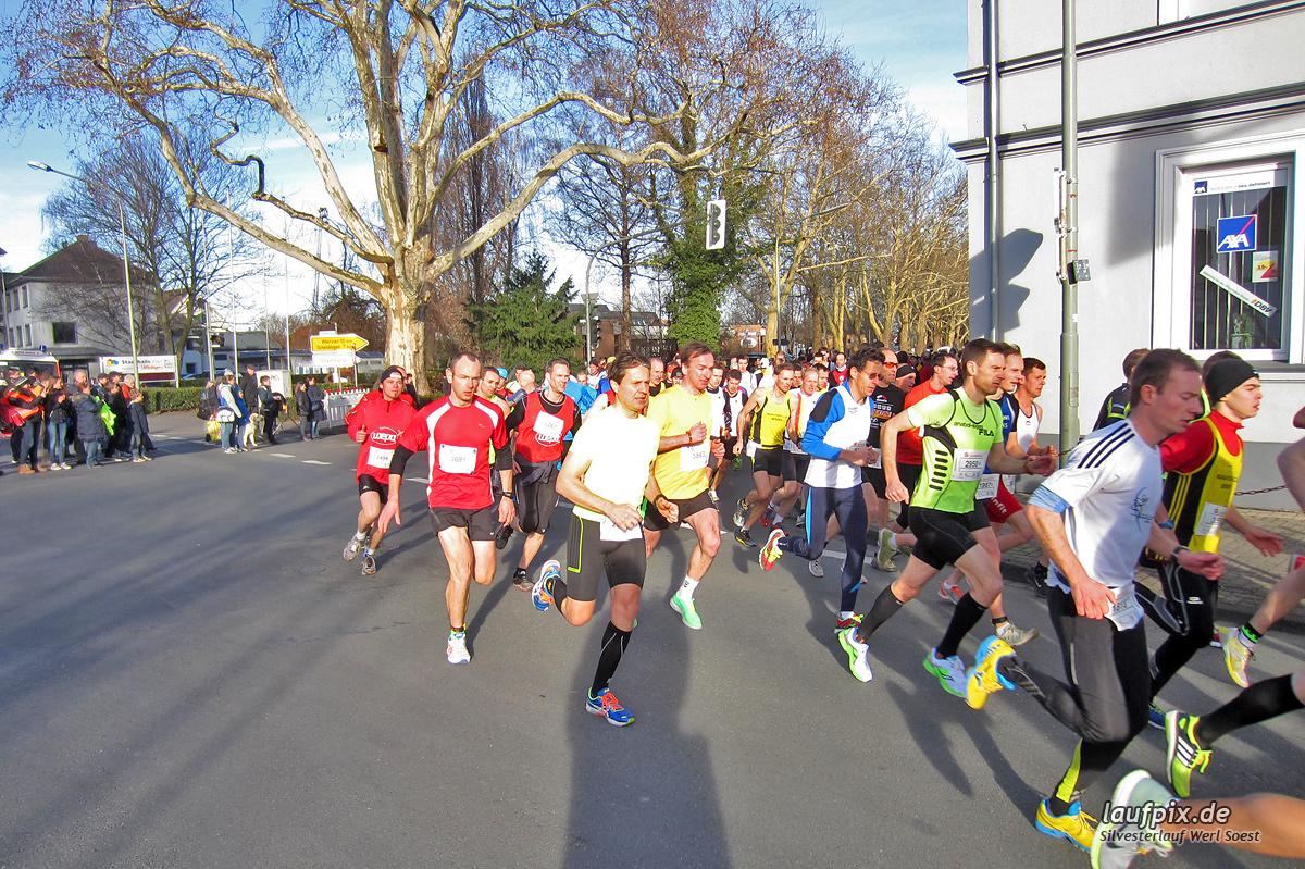 Silvesterlauf Werl Soest - Start 2013 Foto (9)