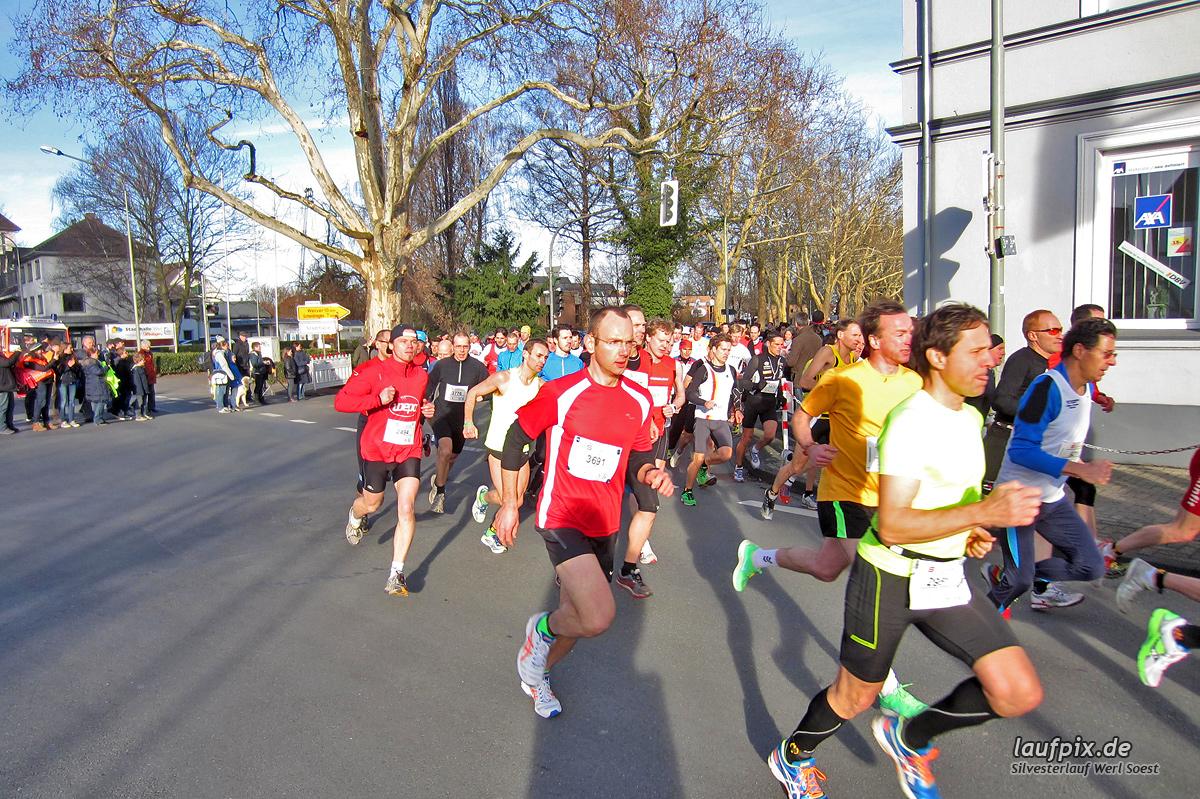 Silvesterlauf Werl Soest - Start 2013 Foto (10)