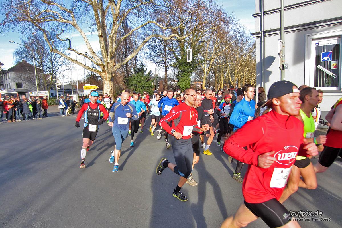 Silvesterlauf Werl Soest - Start 2013 Foto (12)