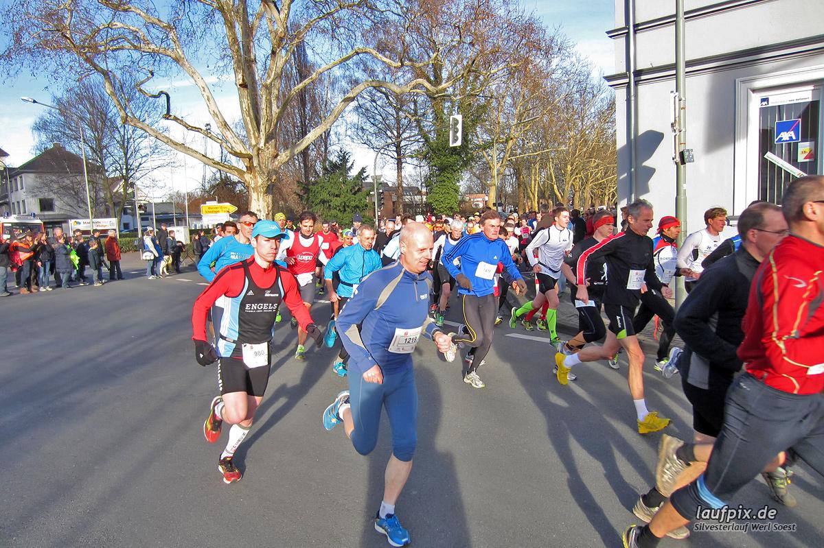 Silvesterlauf Werl Soest - Start 2013 Foto (13)