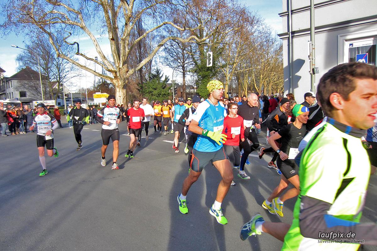 Silvesterlauf Werl Soest - Start 2013 Foto (16)