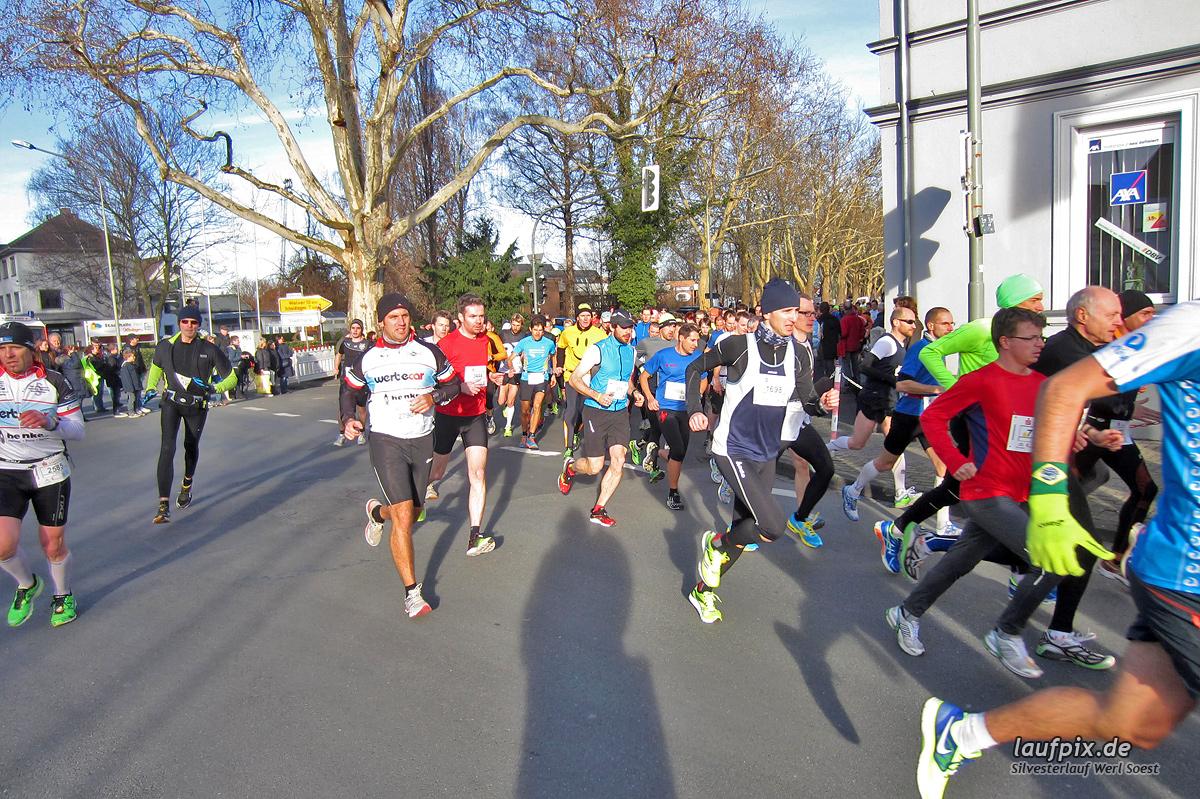 Silvesterlauf Werl Soest - Start 2013 Foto (17)
