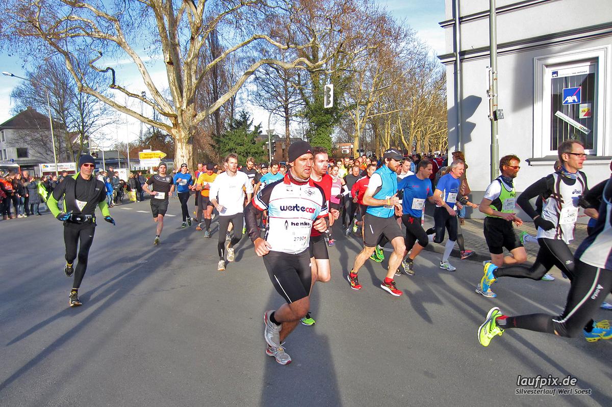 Silvesterlauf Werl Soest - Start 2013 Foto (18)