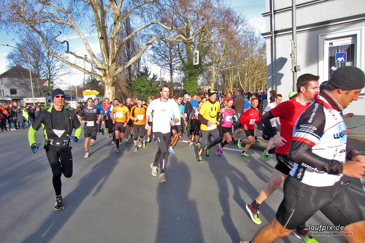 Silvesterlauf Werl Soest - Start 2013 Foto (19)