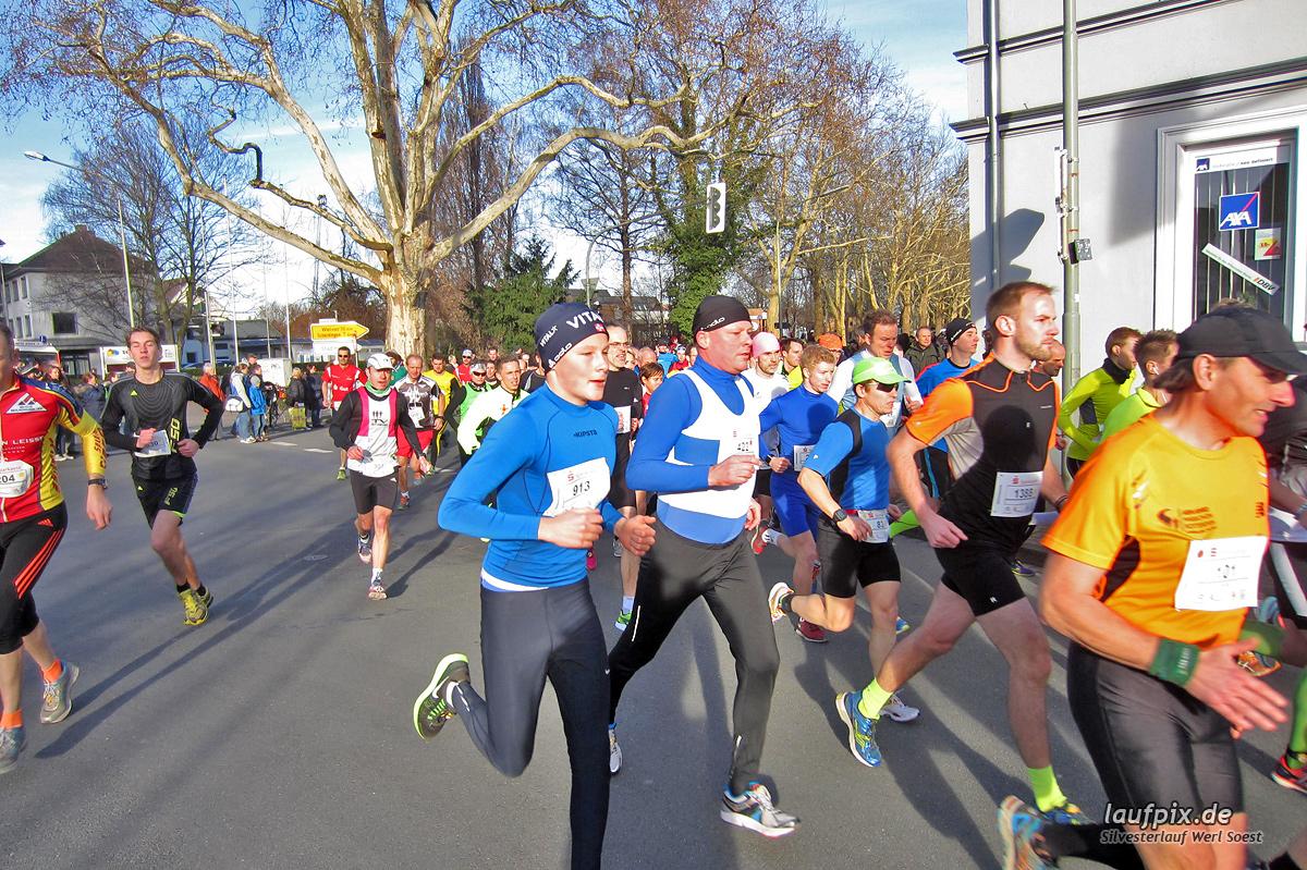 Silvesterlauf Werl Soest - Start 2013 Foto (23)