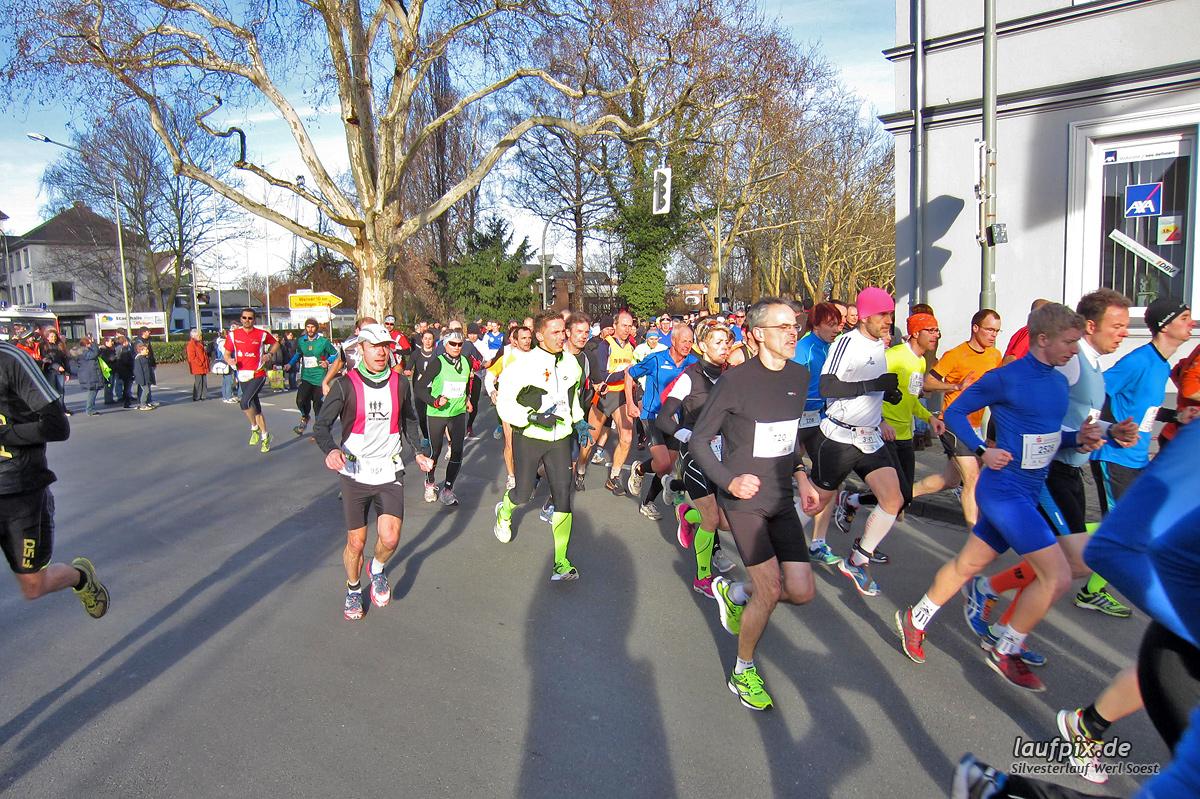 Silvesterlauf Werl Soest - Start 2013 Foto (24)