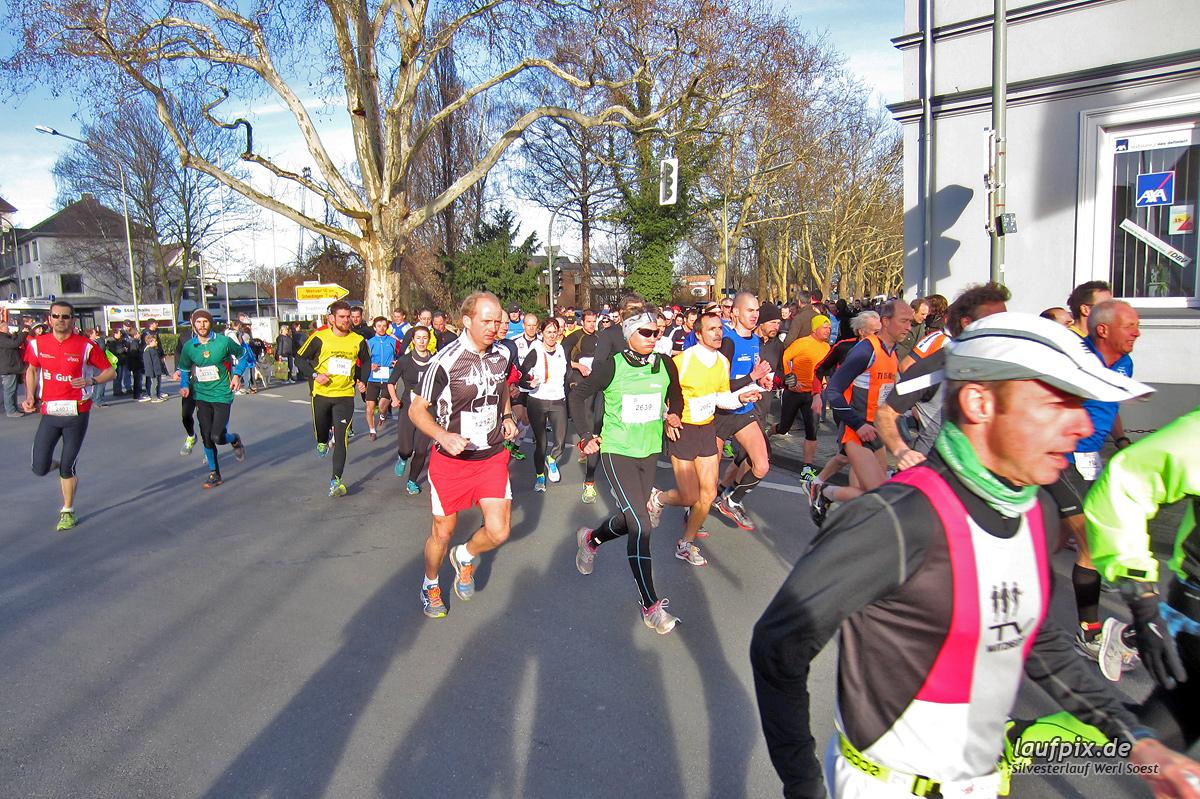 Silvesterlauf Werl Soest - Start 2013 Foto (26)