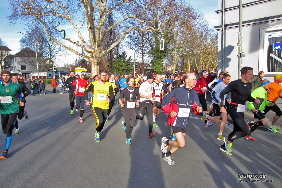 Silvesterlauf Werl Soest - Start 2013 Foto (28)
