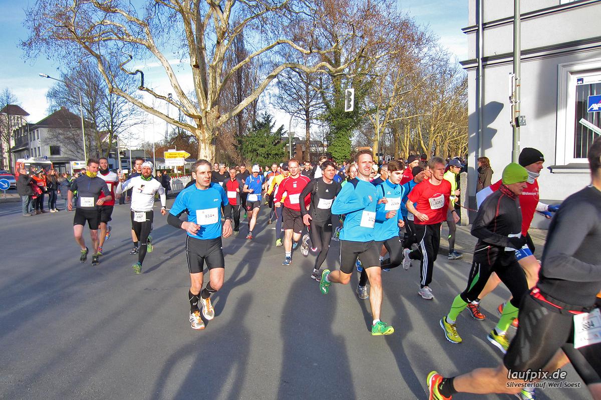 Silvesterlauf Werl Soest - Start 2013 Foto (35)