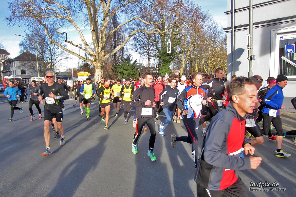 Silvesterlauf Werl Soest - Start 2013 Foto (40)