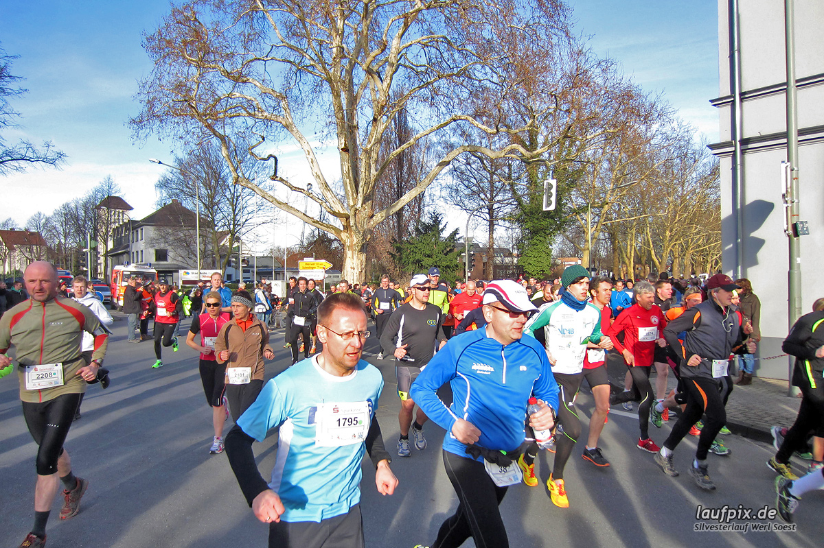 Silvesterlauf Werl Soest - Start 2013 - 97