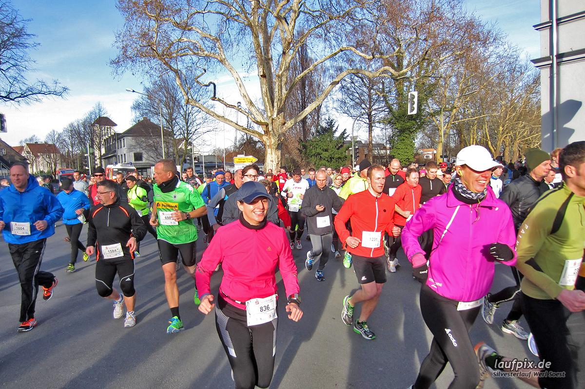 Silvesterlauf Werl Soest - Start 2013 Foto (188)