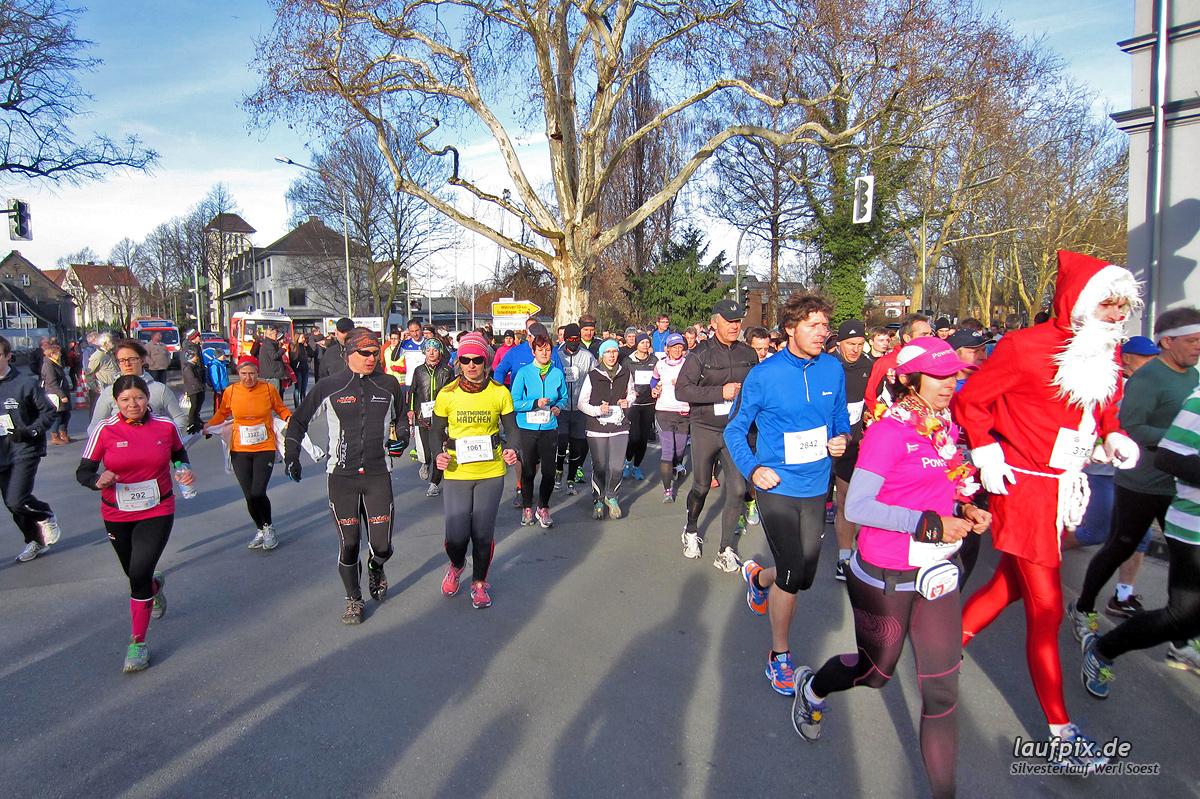 Silvesterlauf Werl Soest - Start 2013 Foto (374)