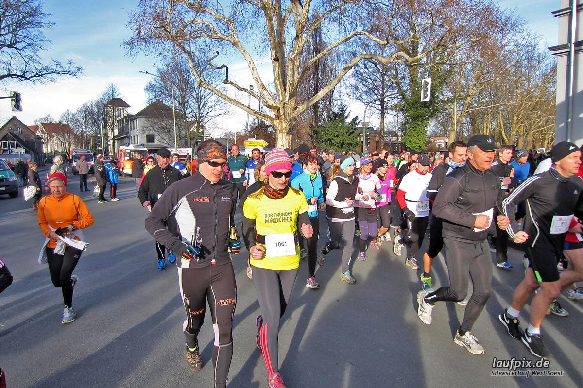 Silvesterlauf Werl Soest - Start 2013 Foto (376)