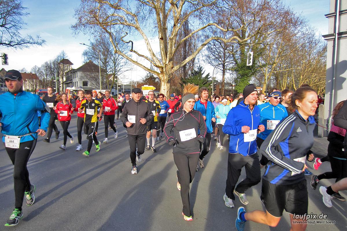 Silvesterlauf Werl Soest - Start 2013 Foto (468)