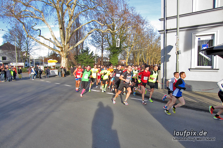 Silvesterlauf Werl Soest - Start 2013