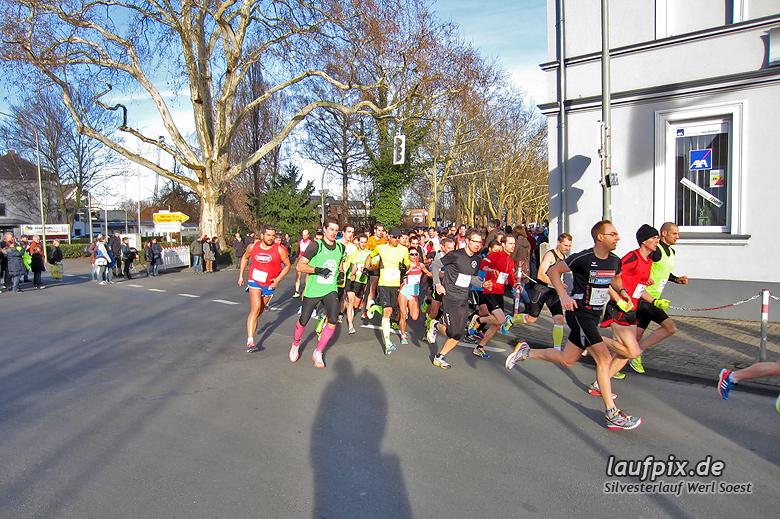 Silvesterlauf Werl Soest - Start 2013 - 2