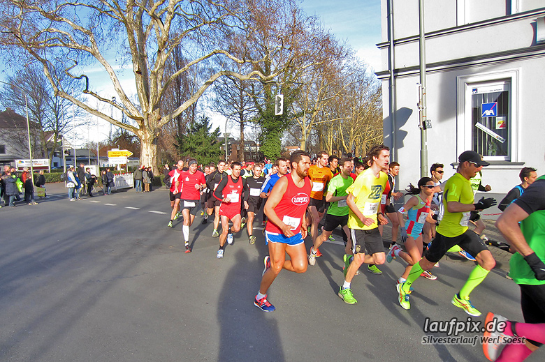 Silvesterlauf Werl Soest - Start 2013 - 4