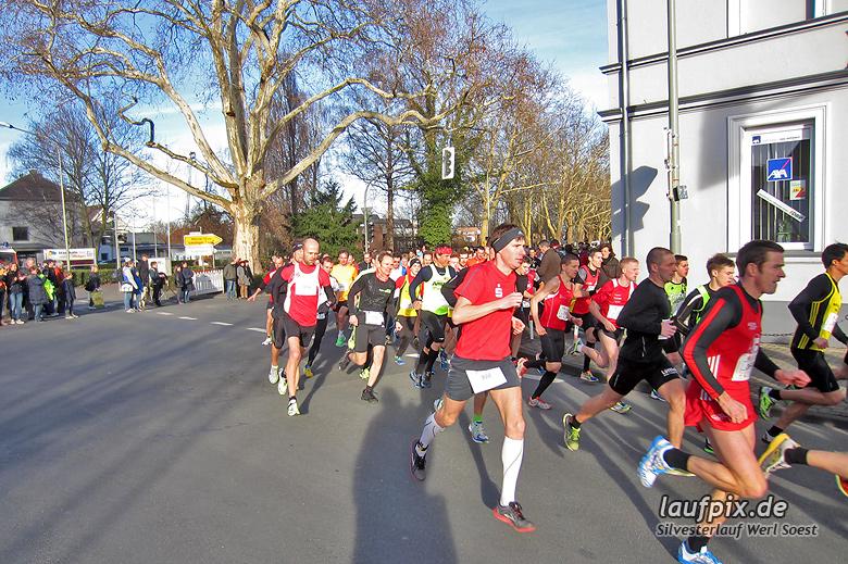 Silvesterlauf Werl Soest - Start 2013 Foto (6)