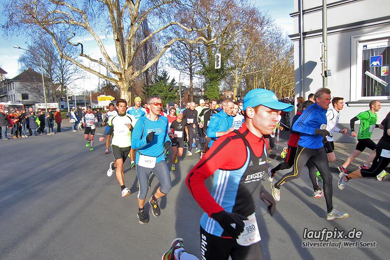 Silvesterlauf Werl Soest - Start 2013 - 14
